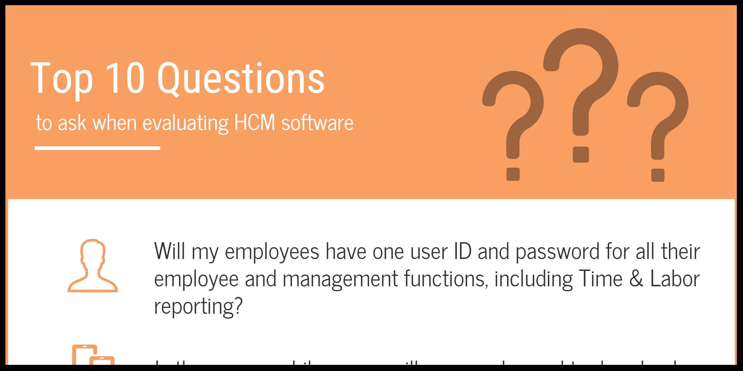 Evaluating HCM Software