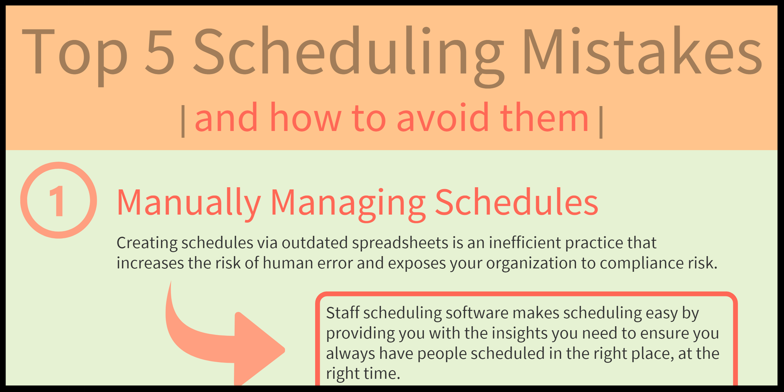 Top 5 Scheduling Mistakes