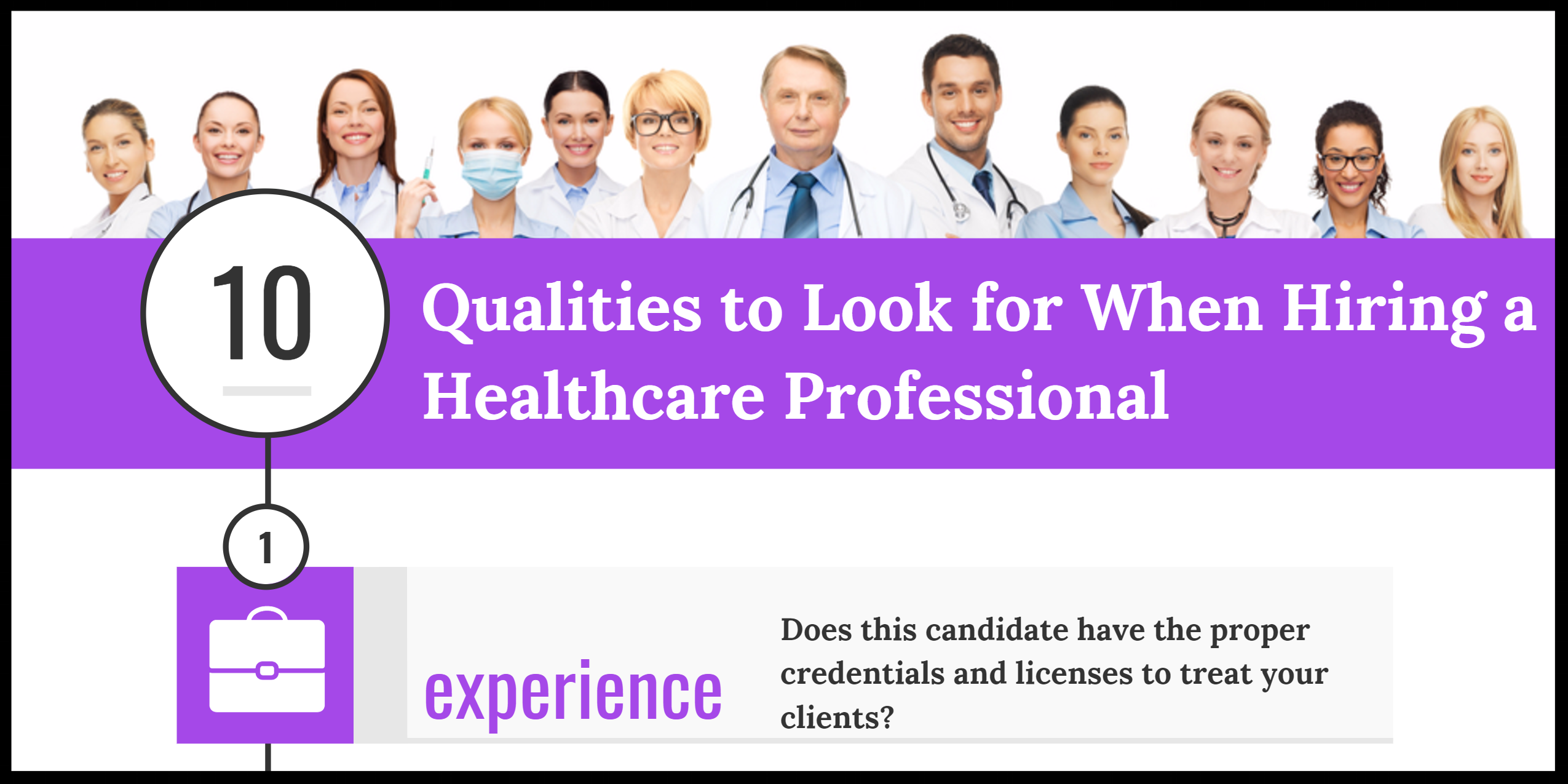 Hiring a Healthcare Professional