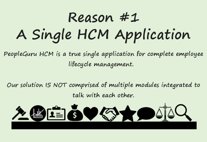 Single HCM Application